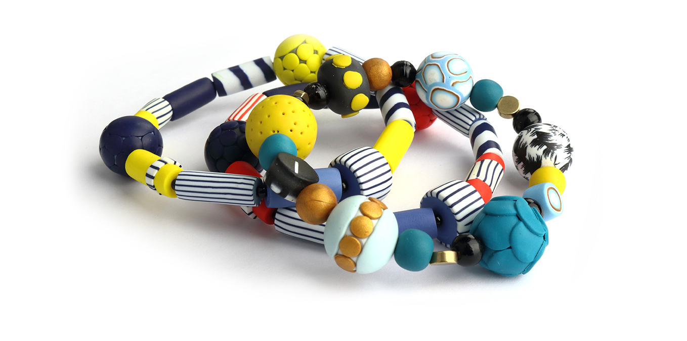 collection of bracelets by Nadege Honey
