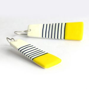 BRETON long earrings by nadege honey