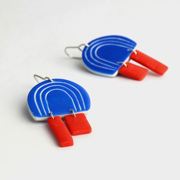 contemporary funky earrings