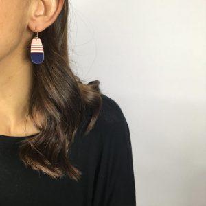 Breton earrrings by Nadege Honey
