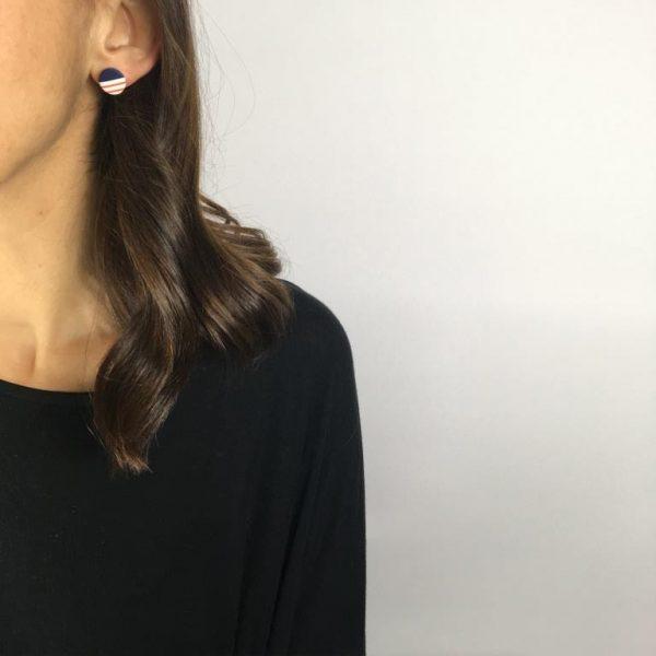 breton studs earrings by Nadege Honey