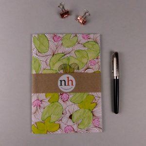 Notebook Floral Green by Nadege Honey
