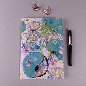 Notebook Pattern Blue