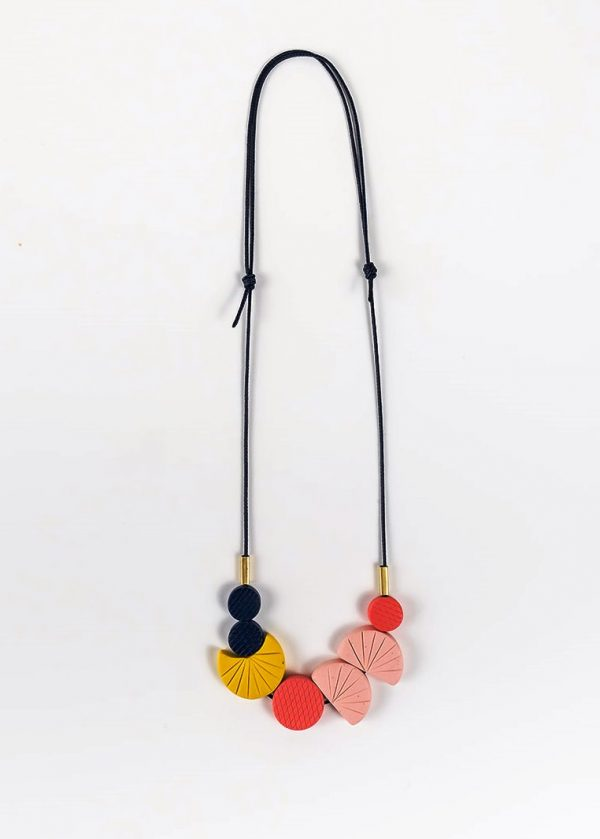 Scallop Necklace by Nadege Honey